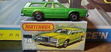 1970s  #74 Matchbox Superfast Mercury Cougar Villager Station Wagon MINT BOX
