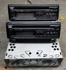 TWO Kenwood KDC-7001 CD head units - Cleaned & tested - 1 perfect - 1 parts 1994