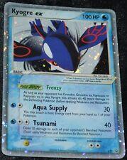 Holo Foil Kyogre ex # 037 Black Star Promo Set Pokemon Trading Cards Rares HP