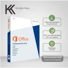 MS Office 2013 Professional Plus, Pro Plus, 32&64 Bits, Produktkey per E-Mail