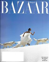 Zoe Kravitz Harper's Bazaar Magazine Fashion Gabriela Hearst Monumental Women