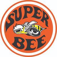 SUPER BEE EMBLEM LOGO VINYL 3M USA DECAL STICKER TRUCK WINDOW BUMPER WALL CAR