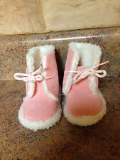 TODDLER GIRL'S PINK BOOTIE SHOES-SIZE: LARGE