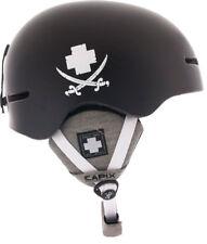 NEW $90 Capix Spy Supreme Vito Black Mens Snowboard/Ski Helmet L/XL 59CM-62CM