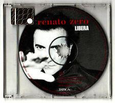 RENATO ZERO. LIBERA. CD Singolo PROMO TIRATURA LIMITATA