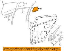 Toyota Oem 16-17 Prius Glass-Rear Door Window-Weatherstrip Seal Right 6818847030