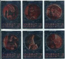 Alien V Predator Requiem Complete Massacre On Main Street Chase Card Set M1-6