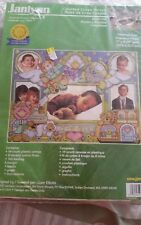 "Janlynn counted cross stitch Nursery Rhymes Comptines 11"" x 8.25"" kit"