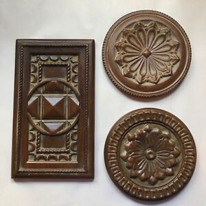 Southern Living At Home Manchester Trivet Trio Ceramic or Wall Plaques