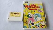 Penguin Wars MSX MSX2 Game Cartridge Boxed set tested -a515-