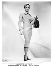 NINA FOCH full costume character still YOU'RE NEVER TOO YOUNG -- (c524)