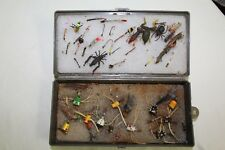 Vintage Fly Fishing Flies Bugs Bees Lure Lot