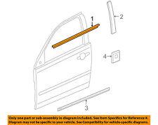Pontiac GM OEM G6-Door Window Sweep-Belt Molding Weatherstrip Right 15889535
