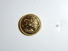b2418 US Navy 1920's- WW2 Button small Officer  Eagle faces right B2D1