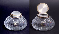 CARTIER - CALAMAIO INKWELL ENCRIER IN CRISTALLO CRYSTAL MUST DE CARTIER - 1989