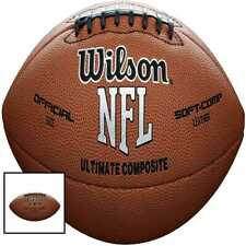 Wilson Nfl Ultimate Composite Game Football (Official Size) New