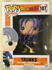 Eric Vale Signed Autographed Trunks Funko Pop Dragon Ball Z JSA COA 3