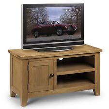 Julian Bowen Astoria TV Unit in Waxed Oak AST008