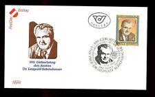 Austria 1988 Dr. Leopold Schonbauer FDC #C2941