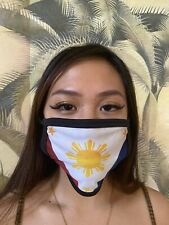 Face Mask Small Adult Washable Filipino Pinoy Philippines 3 Stars And Sun Flag