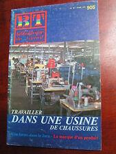 BT 905 1981 Travailler dans une usine de chaussures VIRIVILLE
