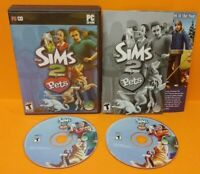 Sims 2: Pets (PC, 2006) PC Game Complete w/ Key Code on Manual - Tested !