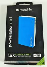 Mophie Juice Pack Powerstation Mini - Blue -2500 mAh