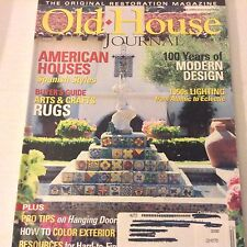 Old House Magazine Spanish Styles, Rugs Guide October 2005 071217nonrh