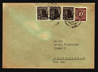 Germany 1947 Mixed Franking Cover to Stuttgart-N - Z14745