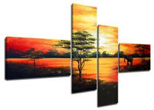 Bild Afrika 160 x 70 cm handgemalt oder gedurckt alle Bilder aufhängfertig.