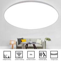 Modern LED PIR Motion Sensor Ceiling Light 18W 12W Hallway Corridor Decor Lamp