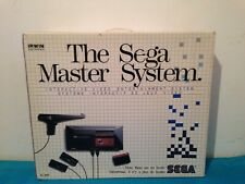 Sega Master system Console BOX ONLY canadian IRWIN variant