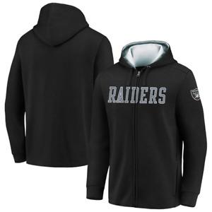 Las Vegas Raiders Hoodie Men's NFL Team Block Full Zip Hoodie - New