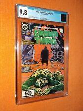 Saga Of The Swamp Thing #36 Cgc 9.8 {Nukeface final app.} {Alan Moore story}