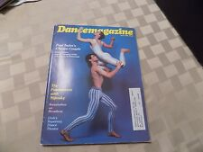 DANCE MAGAZINE April 1980  Ruth Andrien and Christopher Gillis
