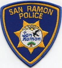SAN RAMON CALIFORNIA CA POLICE PATCH