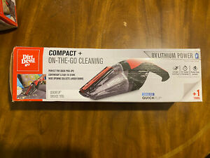 Dirt Devil Quick Flip 8V Handheld Vacuum.Lithium Cordless BD30010 W/ Charger New