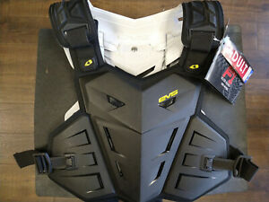 EVS F1 Adult Roost Protector Black L/X