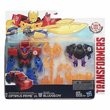Transformers Robots in Disguise Hunter Optimus Prime vs Decepticon Bludgeon Pack