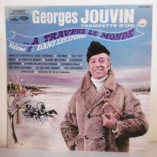 """33T Georges JOUVIN Trompette D'OR Vinyle LP 12"""" A TRAVERS LE MONDE - EMI 340800"""