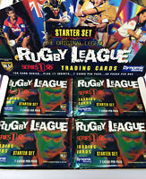 1996 Dynamic Rugby League Cards Series (1) Starter 4-Sealed Pack Unit