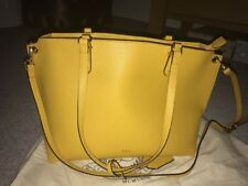 Yellow Ralph Lauren Bag Bnwot