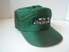MacDonald Pontiac Buick GMC Hat Shimmery Green Car Dealership Nylon Snapback Cap