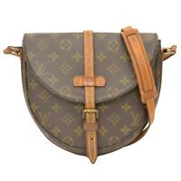 Louis Vuitton Chantilly GM M51232 Monogram Shoulder Crossbody Bag Pochette LV