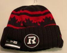 Men's Ottawa Redblacks New Era Black Red Toque Beanie CFL Football One Size