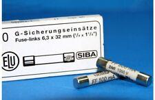 2x SIBA FF500mA 1000V6x32mm Very Fast Acting Ceramic Fuse 7017240 FLUKE15B17B18B