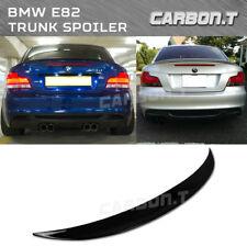 Stock IN US Jet Black 668 OE P-Style For BMW E82 118i 128i Coupe Trunk Spoiler