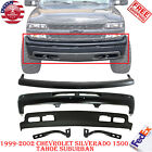 Front Bumper Paintable Kit For 1999-02 Chevy Silverado 1500 Tahoe Suburban