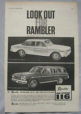1963 Rambler Original advert