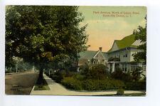 Rockville Centre L.I. NY (Nassau Co) Park Avenue 1917 North of Lenox Road